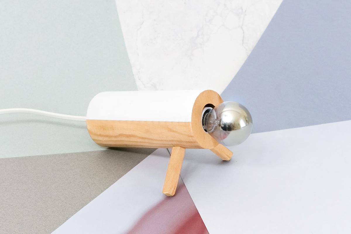 DIY Lampe en bois ADC x Milk Decoration