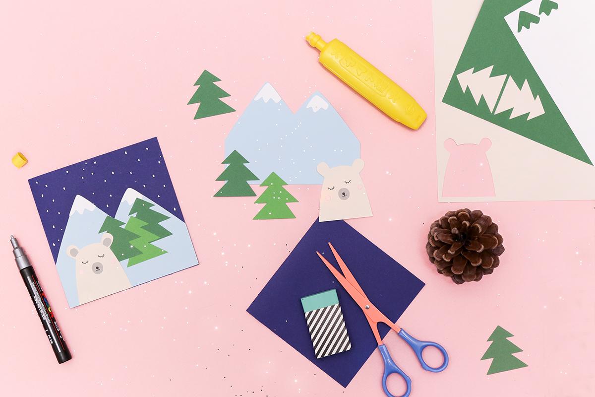 Atelier Carte de Voeux ADC x My Little Kids au Printemps