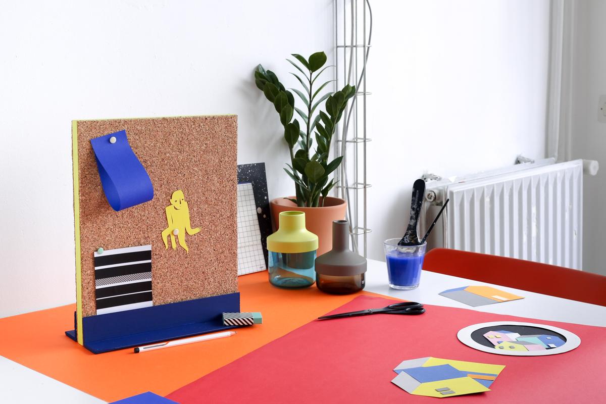Diy pinboard en liège et bois une idée astucieuse pour son bureau