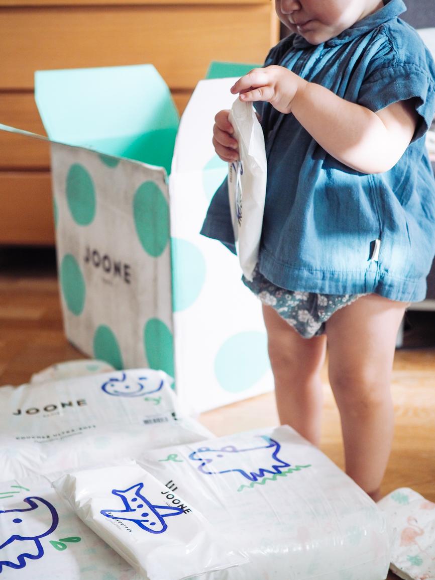 Je vous livre ma review sur les produits Joone Paris : abonnement, couche, liniment, gel lavant et autres produits Joone Paris je vous dis tout.