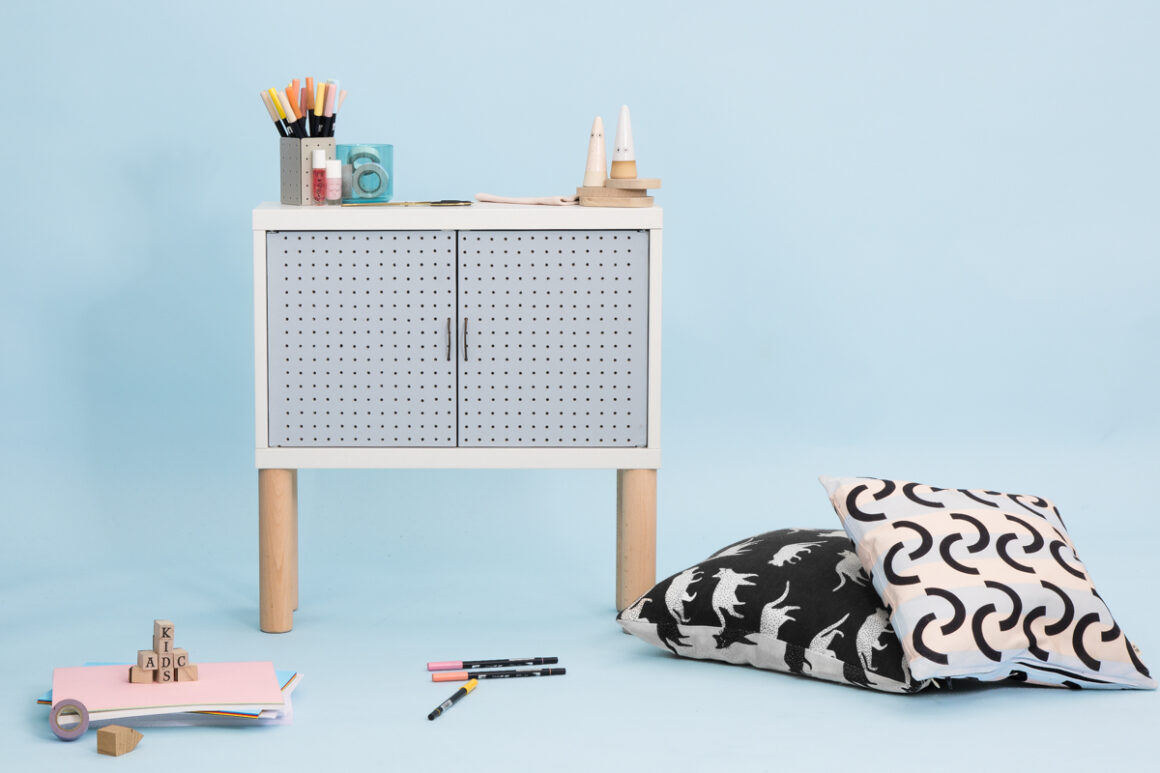DIY Studio ADC pour Le Bon Coin - Meuble pour enfant à partir d'un caisson IKEA. Upcycling, design, do it yourself