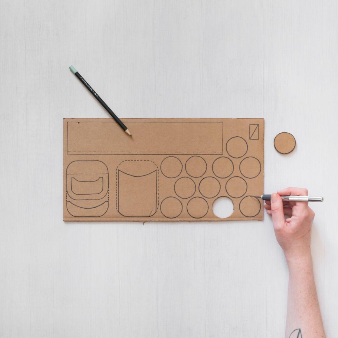 DIY voiture avec une boîte de conserve Cassegrain par Atelier de Curiosité