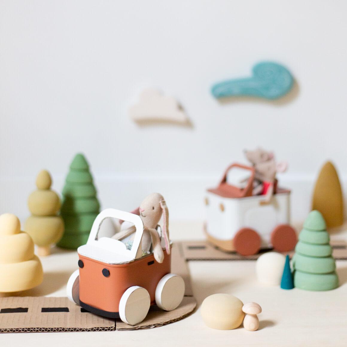DIY jouet voiture avec une boîte de conserve Cassegrain par Atelier de Curiosité