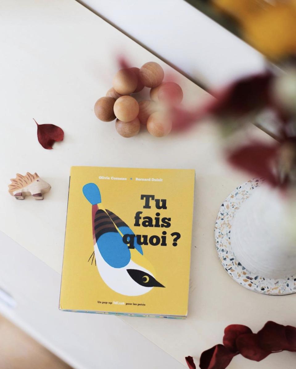 Livre pop-up aux éditions Hélium disponible sur la boutique en ligne Mouflette