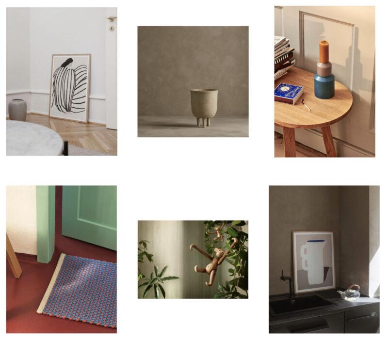 Sélection déco pour la maison sur la boutique en ligne de Bijenkorf